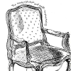 Jessica's journal chair